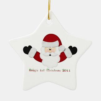 Babys 1st Christmas 2011 Christmas Ornament