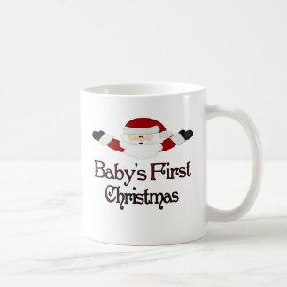Babys 1st Christmas Basic White Mug