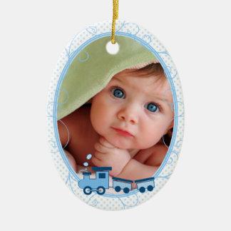 Baby's 1st Christmas Choo Choo Train Ornaments