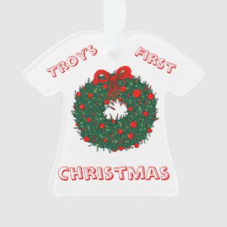 Baby's 1st Christmas Customisable Ornament