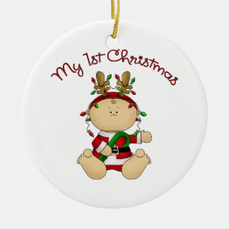 Babys 1st Christmas Christmas Tree Ornament