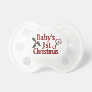 Babys 1st Christmas Dummy