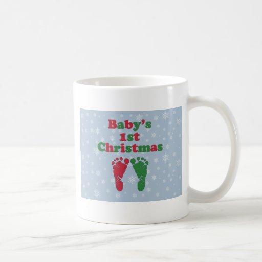 Baby's 1st Christmas Coffee Mug