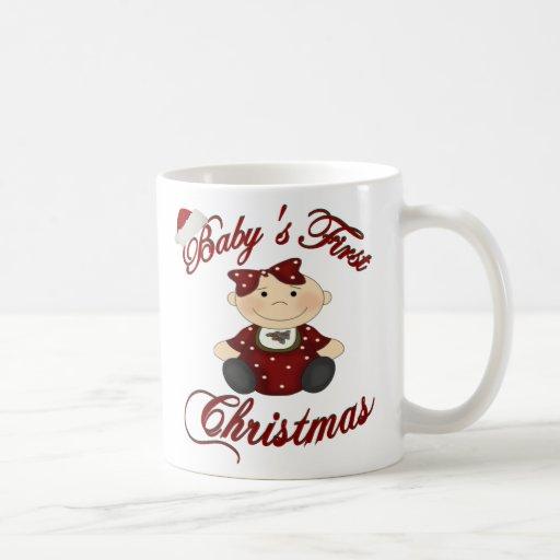 Babys 1st Christmas Mugs