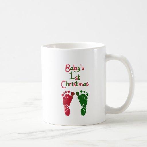 Baby's 1st Christmas Coffee Mugs