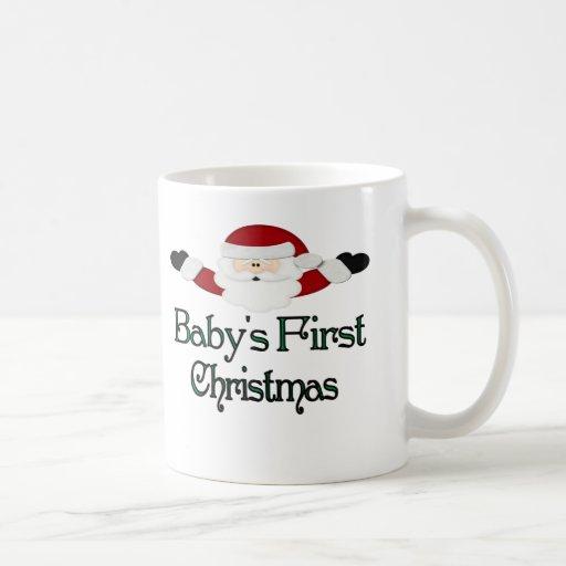 Babys 1st Christmas Coffee Mugs