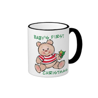 Baby's 1st Christmas Ringer Mug