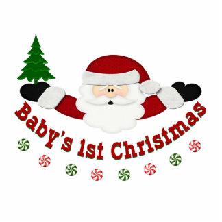 Babys 1st Christmas Standing Photo Sculpture