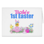 Baby's 1st Easter Gift Greeting Card