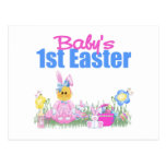 Baby's 1st Easter Gift Post Card