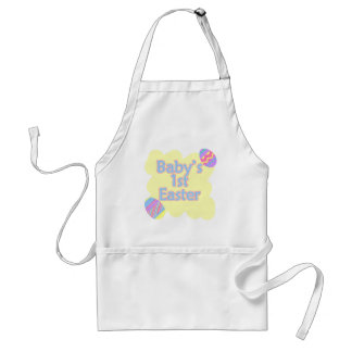 babys 1st easter standard apron
