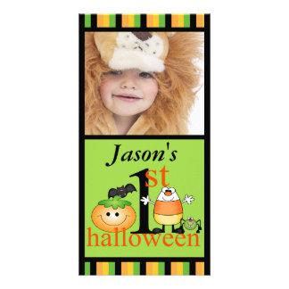 Baby's 1st Halloween Photo Card
