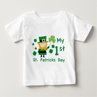 Baby's 1st St. Patrick's Day Tshirt