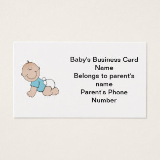 Baby's Business Card