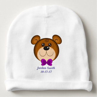 Baby's Cute Teddy Bear Bow Tie Baby Beanie