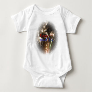Baby's First 4th of July Baby Bodysuit