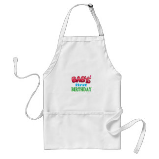 Baby's First Birthday Apron