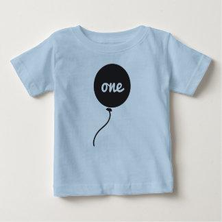 Baby's First Birthday Shirt   Blue