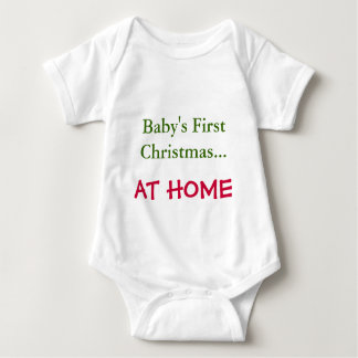 Baby's First Christmas..., AT HOME Infant Creeper