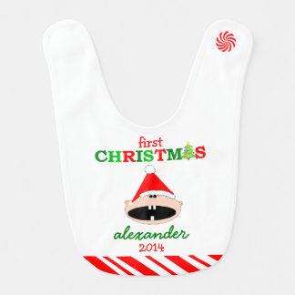 Baby's First Christmas- Bib