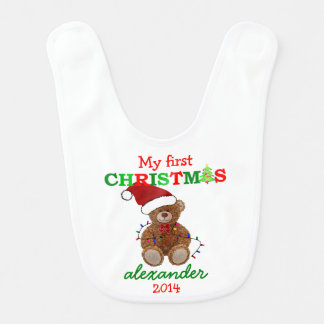Baby's First Christmas- Bibs