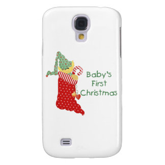 Baby's First Christmas Samsung Galaxy S4 Cover