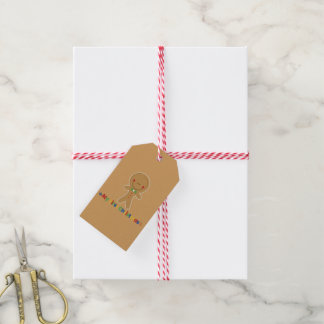 Babys First Christmas Gingerbread Boy Gift Tags