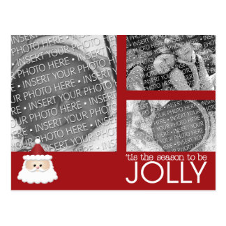 Baby's First Christmas Holiday Photo Post Cards