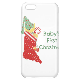 Baby's First Christmas iPhone 5C Cover