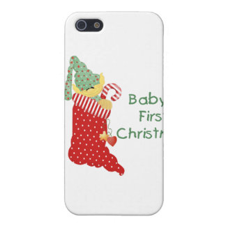 Baby's First Christmas Case For iPhone 5