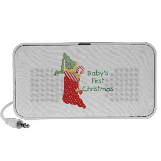 Baby's First Christmas iPod Speakers