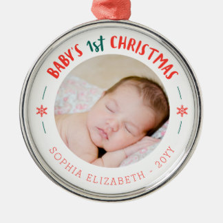 Baby's First Christmas Keepsake Christmas Ornament
