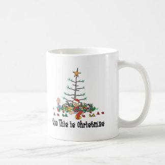 Baby's First Christmas Coffee Mug