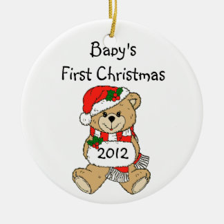 Baby's First Christmas Ornament 2012
