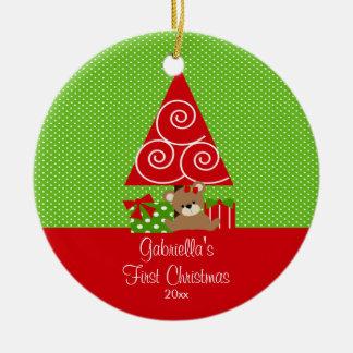 Baby's First Christmas Ornament Christmas Tree