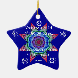 Baby's First Christmas Ornament.Desiderata.Quote.4 Christmas Ornament