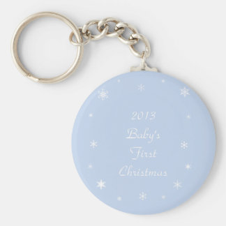Baby's First Christmas Ornaments & Gifts Key Ring