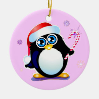 Baby's First Christmas Penguin Christmas Ornament