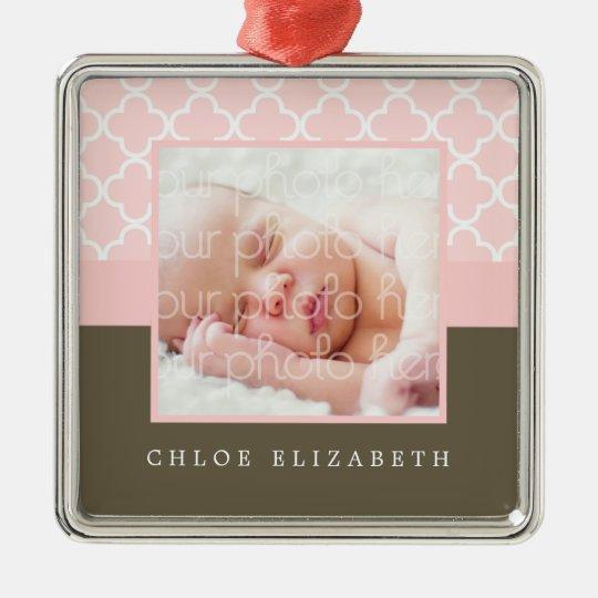Baby's First Christmas Photo Frame Christmas Ornament