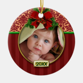Baby's First Christmas Photo Frame Ornaments