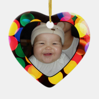 Babys First Christmas Photo Gift Tag & Ornament