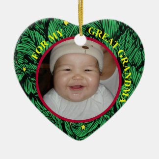 Baby's First Christmas Photo Gift Tag & Ornament