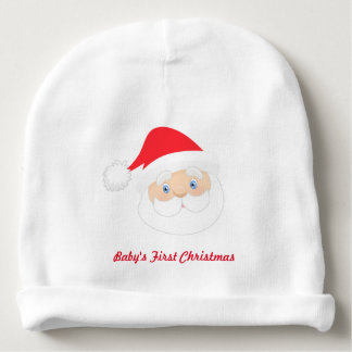 Baby's First Christmas Santa Baby Beanie
