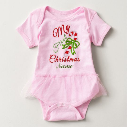 """Baby's First Christmas"" TUTU BODYSUIT"