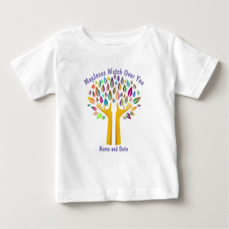 Baby's First Communion, Baptism, Godchild PHOTO Baby T-Shirt