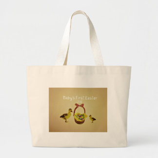 Baby's First Easter 2012 Jumbo Tote Bag