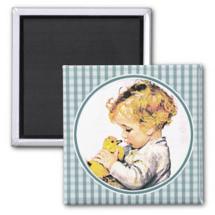 Baby first easter gifts gift ideas zazzle uk babys first easter easter gift magnet negle Images