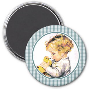 Happy first easter gifts gift ideas zazzle uk babys first easter easter gift magnet negle Images
