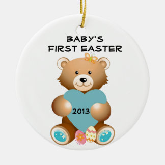 Baby's First Easter Teddy Bear Ornament