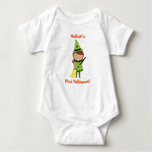 African american witch gifts gift ideas zazzle uk babys first halloween shirt personalised witch baby bodysuit negle Choice Image